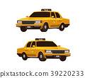retro, yellow, taxi 39220233