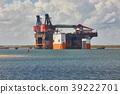 Offshore crane platform 39222701
