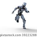 인간형 로봇 perming3DCG 일러스트 소재 39223288