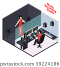 Vocal Recording Isometric Composition 39224196