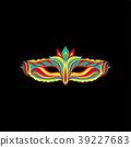 vector carnival mask 39227683