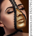 model with art fantasy make up 39227951