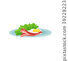 egg, bacon, food 39228223