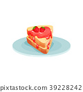 Sandwich with strawberry jam, food for breakfast 39228242
