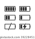 battery charge icon 39228451