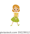 dress, girl, cartoon 39229012