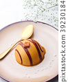 caramel, dessert, pudding 39230184