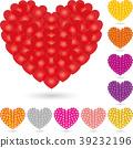 Heart, love, present, logo 39232196