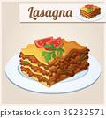 Detailed Icon. Lasagna. 39232571
