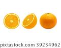 Orange isolated on the white background 39234962