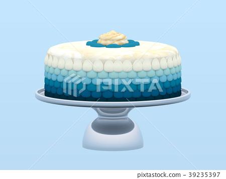 decorated cake 39235397