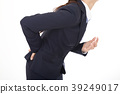 Women suffering from low back pain 39249017