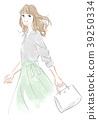 Fashionable ladies 39250334