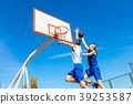basketball, jump, player 39253587