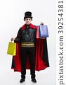Vampire Halloween Concept - Happy handsome 39254381