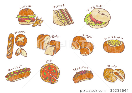配菜麵包 39255644