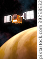 cosmos orbit orbiting 39258532