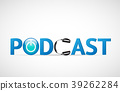 podcast, vector, icon 39262284