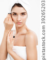 Beauty and Skin care concept - Close up Beautiful 39265203