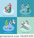 Doctor Patient Isometric Design Concept 39265395