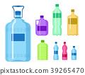 Plastic water bottle vector blank nature clean 39265470