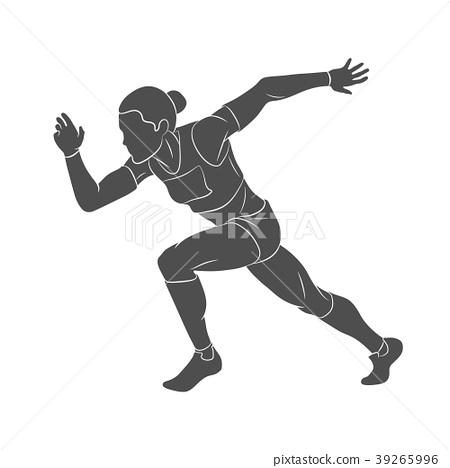 Running, sprinter, athlete 39265996