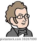 schubert face drawing 39267090