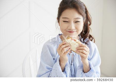 생활,젊은여자,한국인 39268430