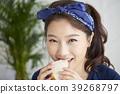 생활,젊은여자,한국인 39268797