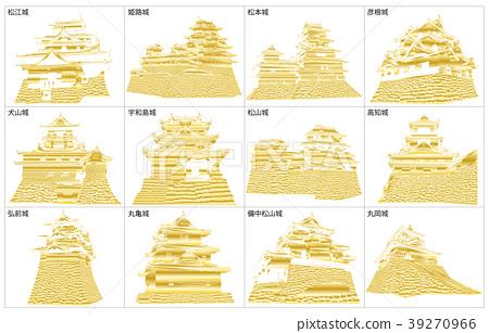 Japanese castle extant Tenmukin 2 39270966