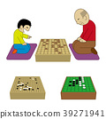 Children and old men pointing to Shogi 39271941
