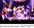 Soft blurred musicians playing wind instruments 39274977