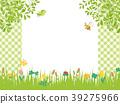 春天开花草甸风景 39275966