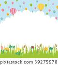 春天开花草甸风景 39275978