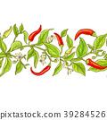 cayenne pepper vector pattern 39284526