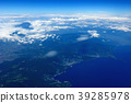 在熱海附近的太平洋的鳥瞰圖 39285978