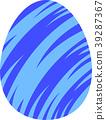 다채로운 부활절 달걀 39287367