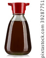 bottle with soy sauce 39287751