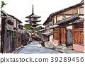 京都 街景 街道 39289456