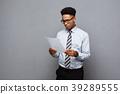 businessman, man, paper 39289555