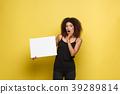 Business Concept - Close up Portrait young 39289814