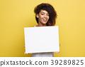 Business Concept - Close up Portrait young 39289825