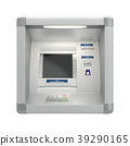 Atm machine on wall 39290165