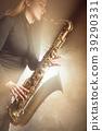 sax, saxophone, woman 39290331