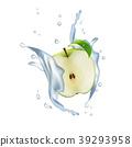 Apple Fruit Milk Water Juice Yogurt Splash   39293958