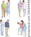 senior, nursing, vector 39294499