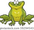 illustration, vector, frog 39294543