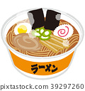 Cup ramen completed 39297260