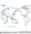 대륙, 세계지도, 벡터 39297658
