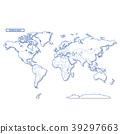 Sekai地圖簡單的白色地圖 39297663
